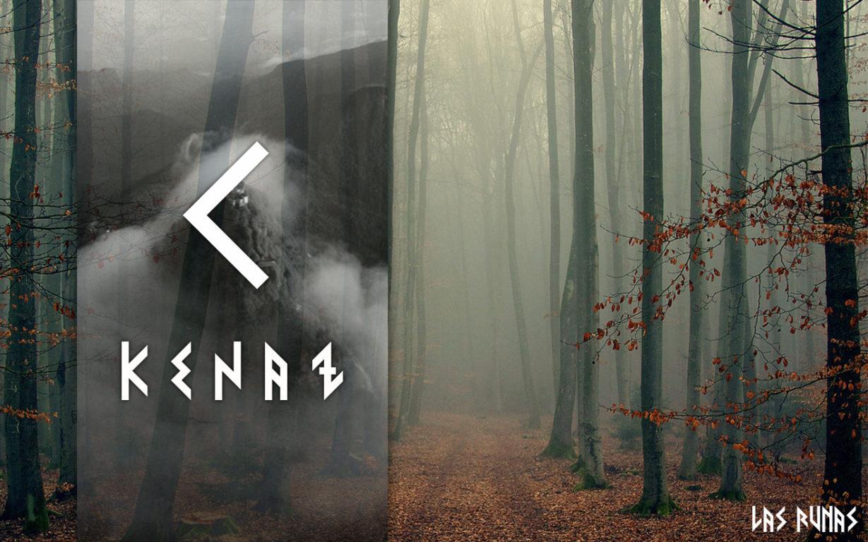 Руна Кеназ, словно факел, рассеивает тьму. Она освещает верную дорогу, раскрывает смысл поступков окружающих, дарит свет и ясность мышления