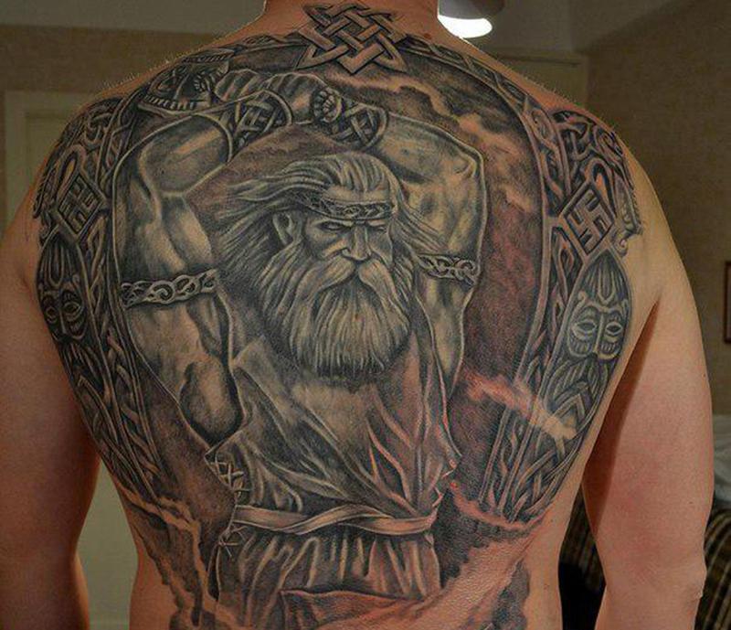Татуировка бога Перуна