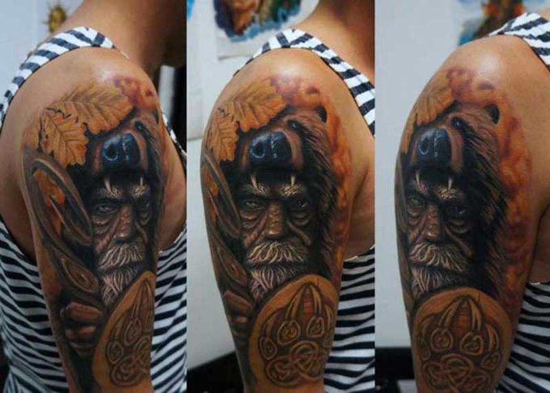 Татуировка бога Велеса
