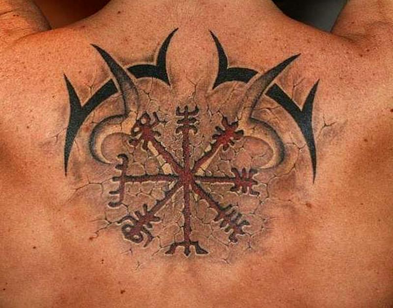 Татуировка славянского оберега