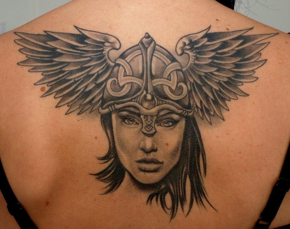 Татуировка Валькирии