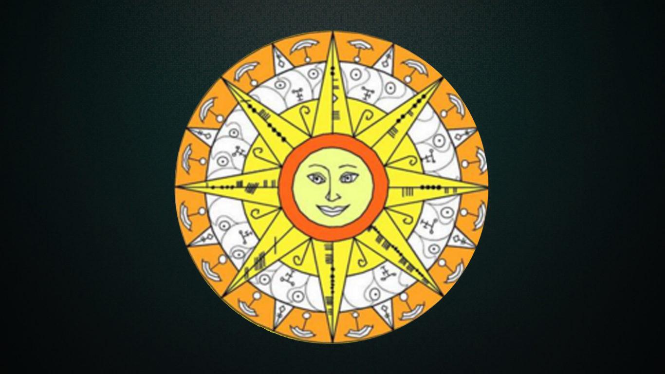 Став «Солнышко» для привлечения удачи