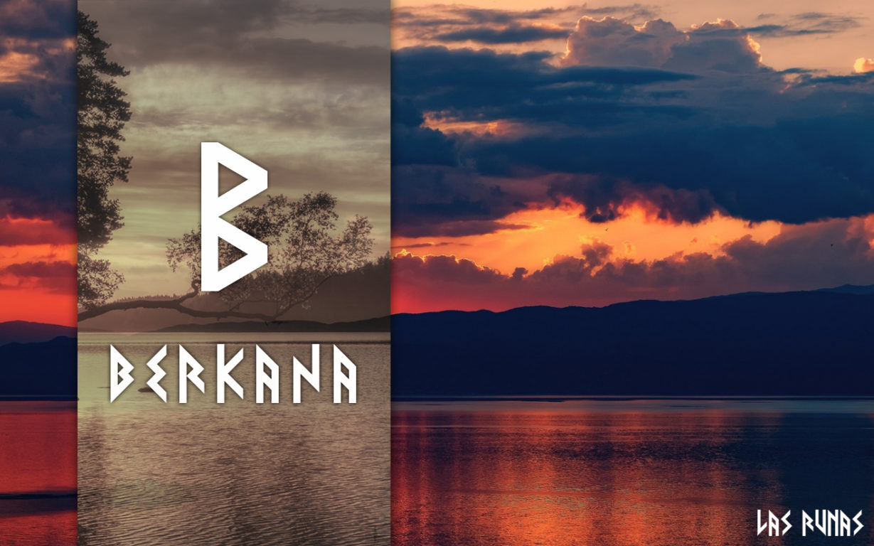Руна Беркана (Berkana) считается «женской» руной футарка