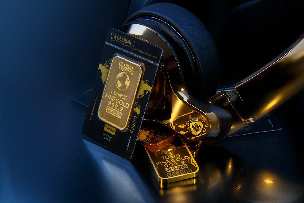 Материальное богатство - золото