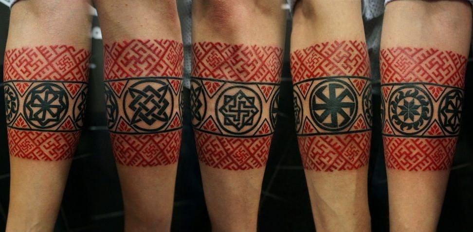 Рунические татуировки - обереги