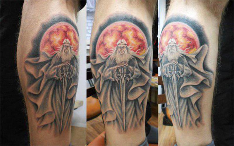Татуировка бога Сварога