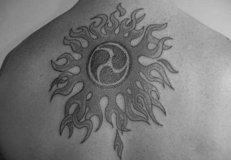 Татуировка бога Ярило