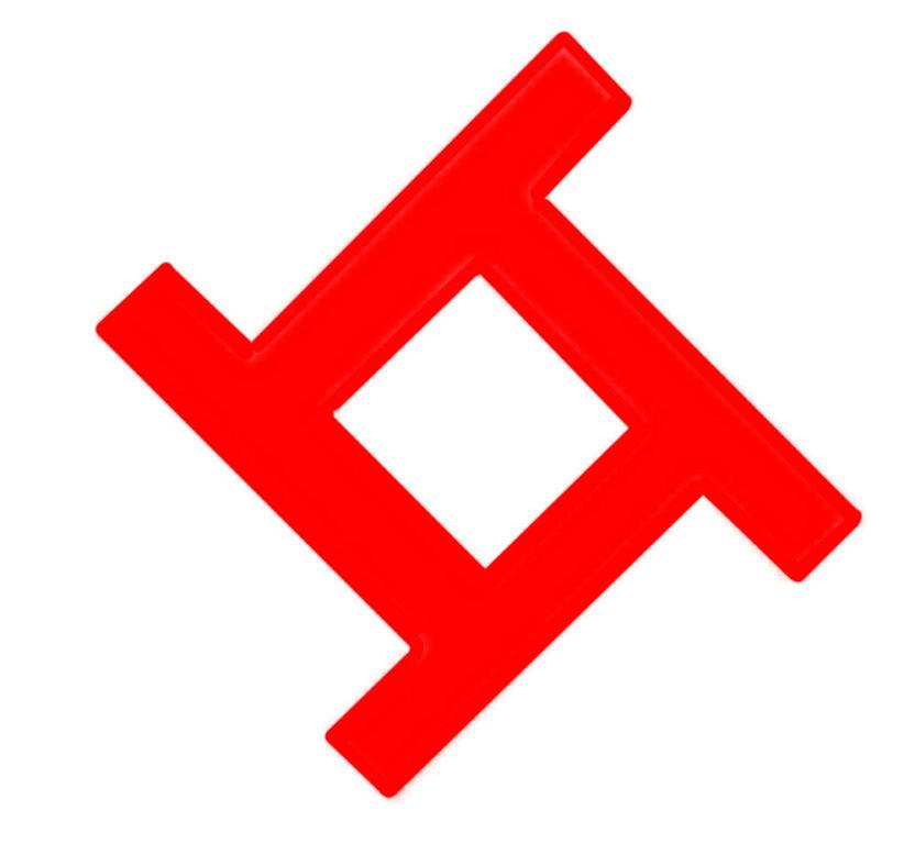 Солнечный, летний вариант символа Даждьбог