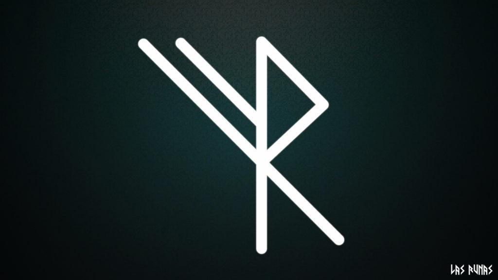 руна изгоняющий крест фото