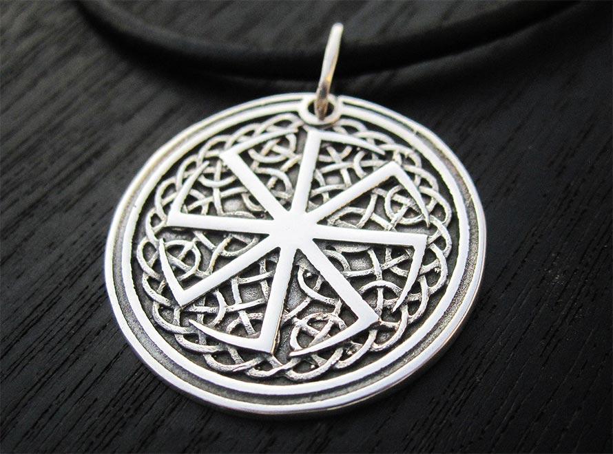 Амулет с символом Коловрат